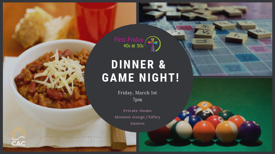 dinner and game night