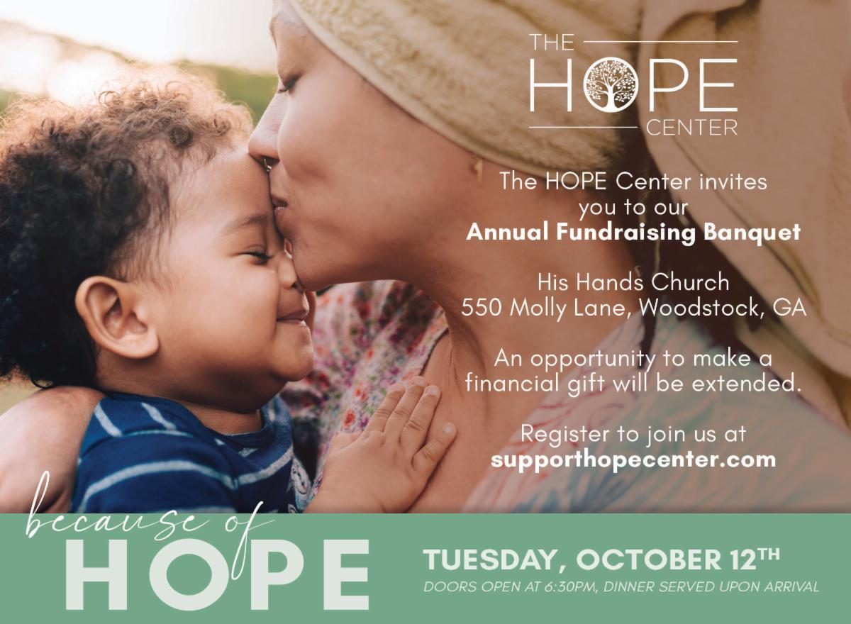 The Hope Center Annual Banquet