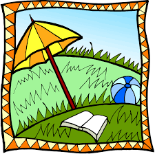 sunny reading outside summer