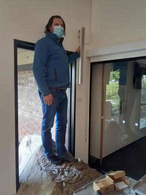 facilities repairs rock window