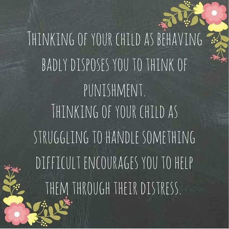 Quote on children_s behavior