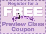 Free Kindermusik Preview Coupon!