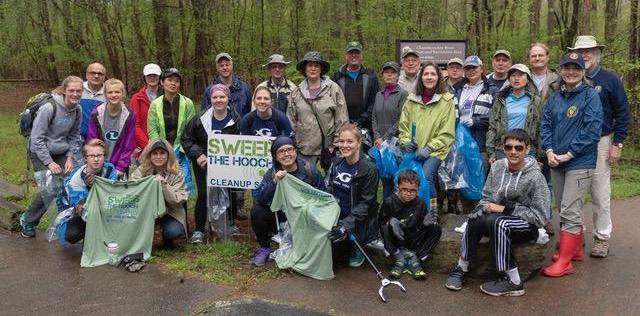Sweep the Hooch 2018 at Jones Bridge Park