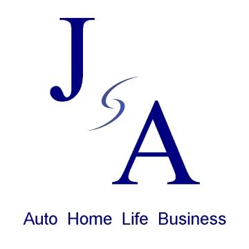 JA Auto Home Life Bus. Logo