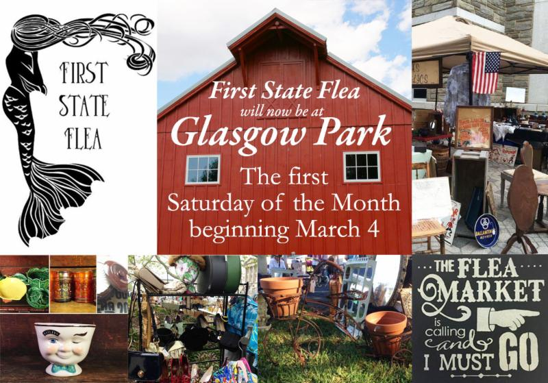 Tomorrow first state flea market in the glasgow park bank - Market place at garden state park ...
