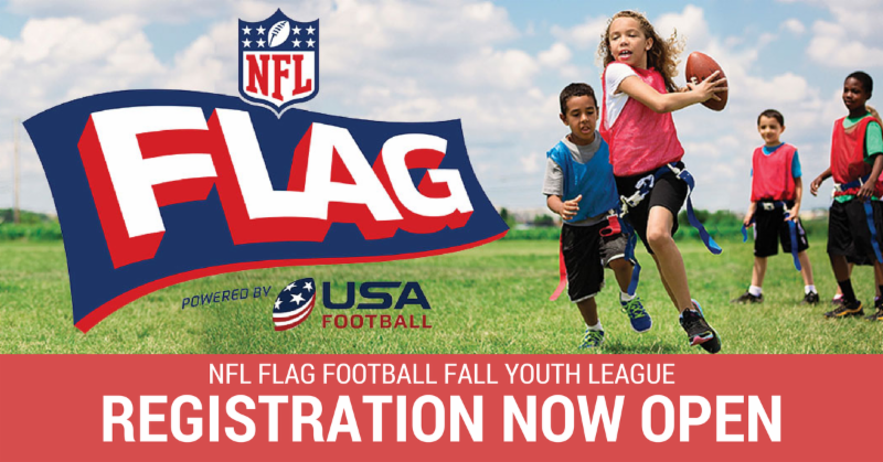 542cff7bd NFL Youth Flag Football, Free Art Saturday, First State Flea Market ...