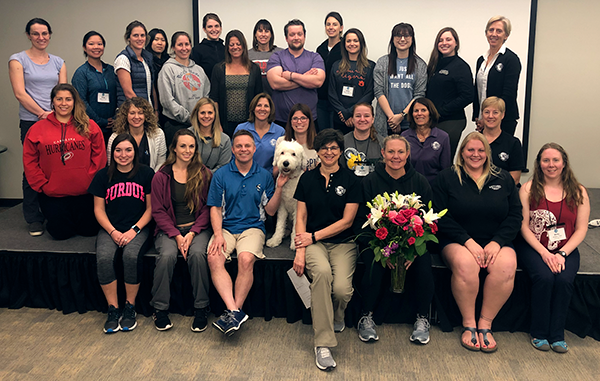 Clinical Applications class photo