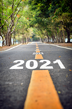 2021 on the road ahead