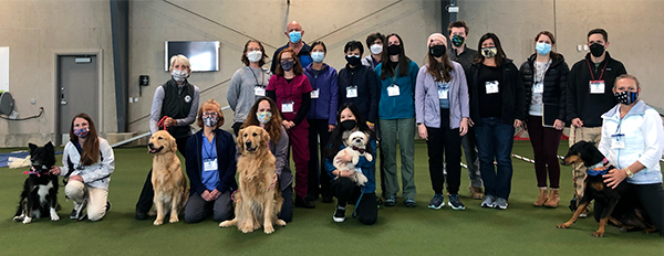 Introduction to Canine Rehabilitation class photo April 16, 2021