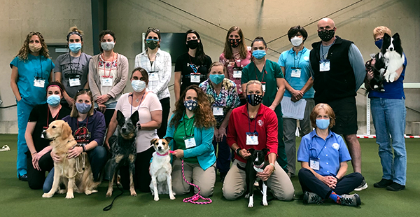 Introduction to Canine Rehabilitation class photo May 22, 2021