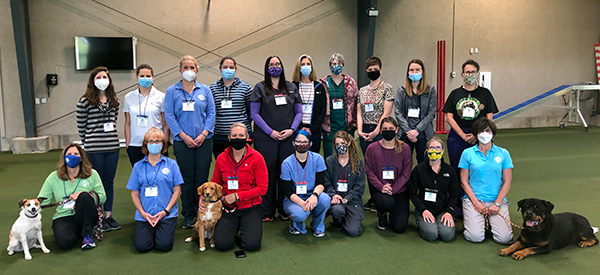 Introduction to Canine Rehabilitation class on May 16, 2021