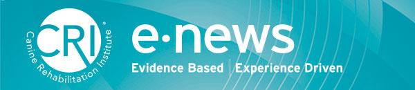 Canine Rehabilitation Institute e-news
