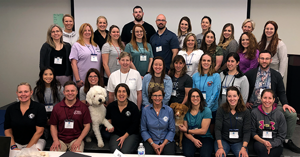 January 2020 Introduction to Canine Rehabilitation class
