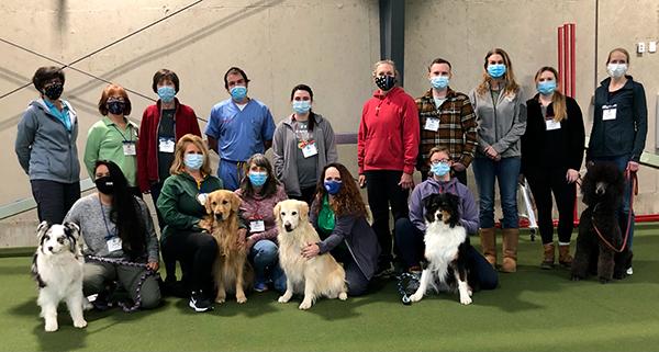 January 15-18 Introduction to Canine Rehabilitation class
