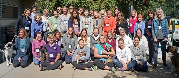 Canine Rehabilitation Therapist class_ October 2019