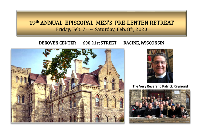 19th Annual Men's Pre-Lenten Retreat @ DeKoven Center | Racine | Wisconsin | United States