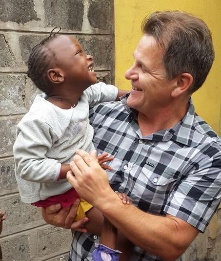 Dan Wiebe in Kenya