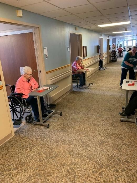 A Nursing Home's Answer to Sheltering in Place Bingo!