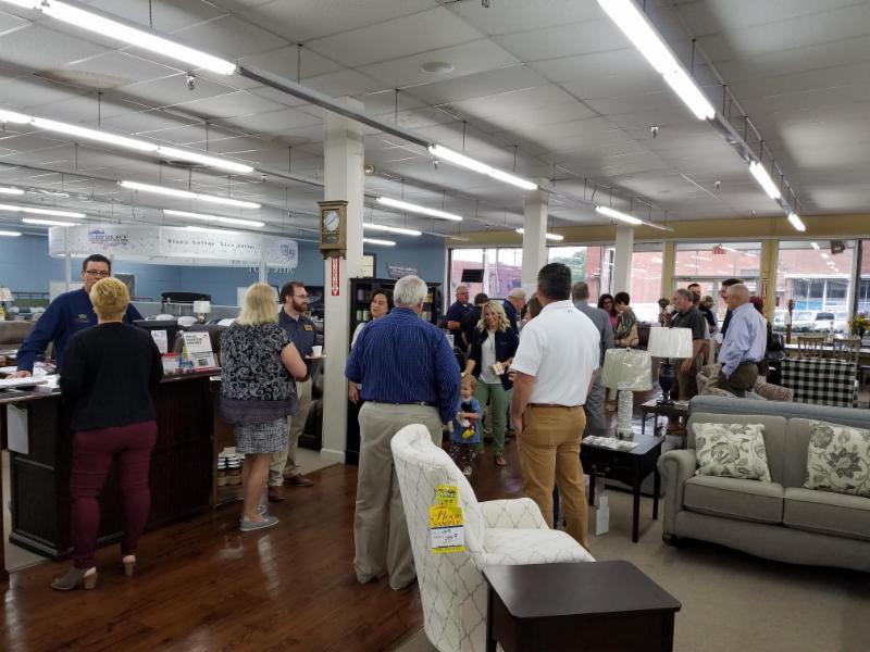 Wednesday Morning, September 12, 2018 Dawned With A Breakfast Networking  Hosted By Valued Logan County Chamber Of Commerce Member, Crabtree Furniture .