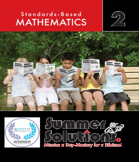 Summer Math Book Image