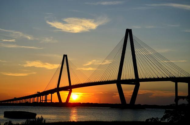 Ravenel Bridge, South Carolina.