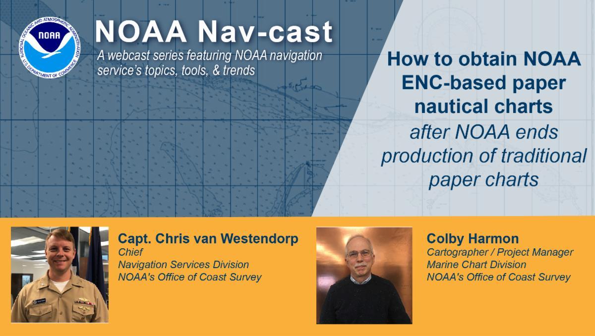 NOAA Nav-cast poster.