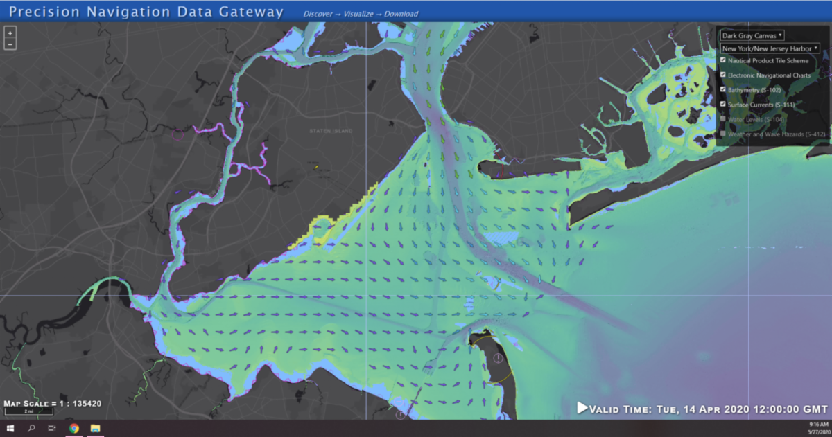 Image of Precision Marine Navigation gateway.