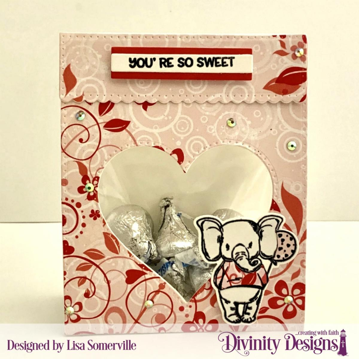 Stamp/Die Duos: So Sweet Custom Dies: Festive Favors, Sentiment Strips Paper Collection: Sweet Hearts