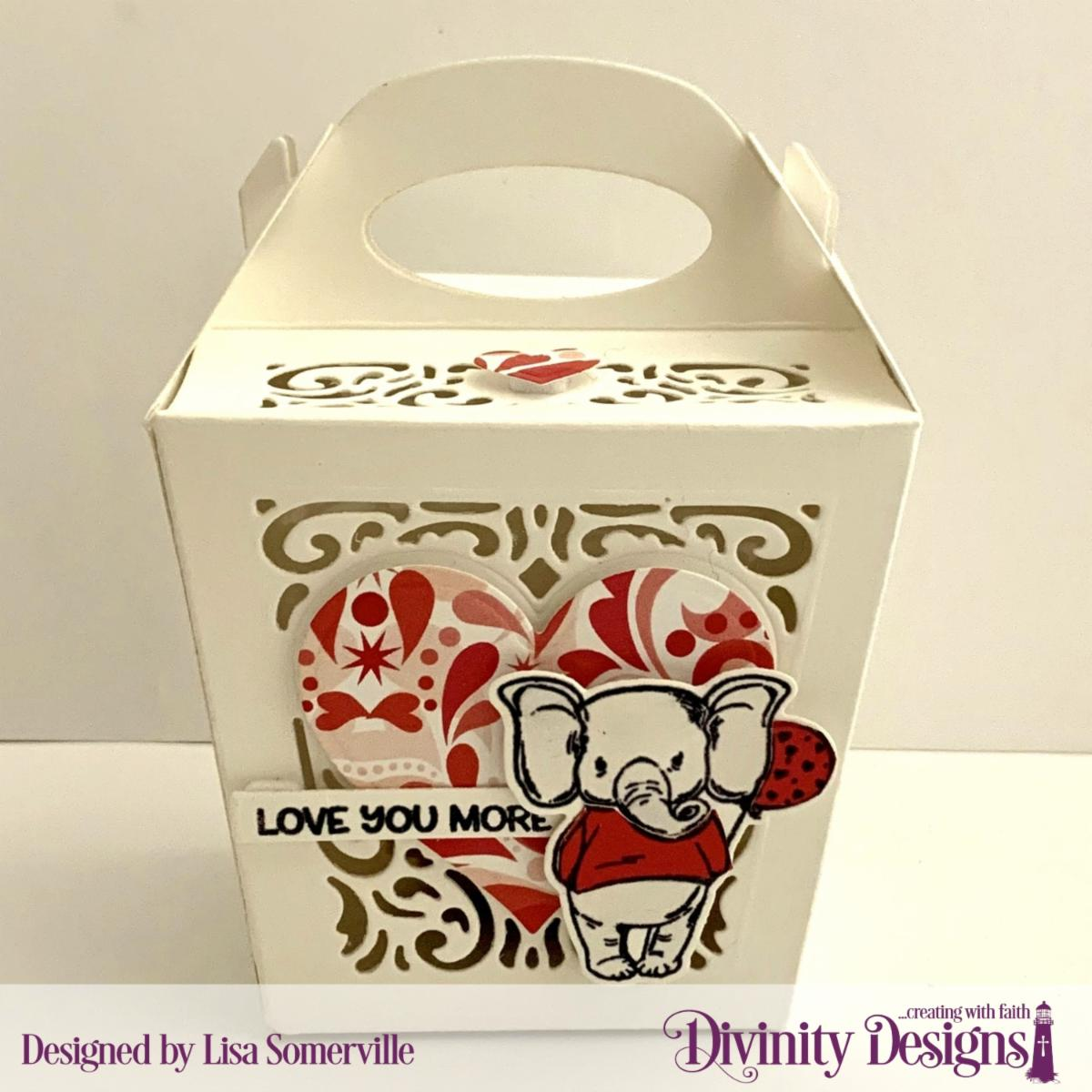 Stamp/Die Duos: So Sweet Custom Dies: Gable Box, Heavenly Hearts, Layering Hearts, Sentiment Strips Paper Collection: Sweet Hearts