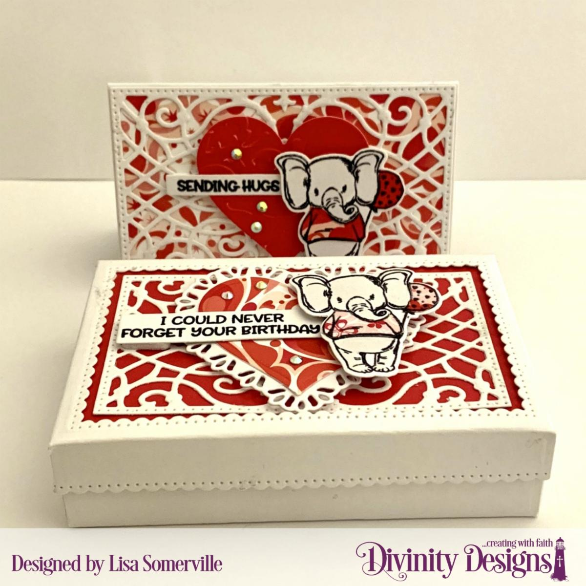 Stamp/Die Duos: So Sweet Custom Dies: The Givinig Gift Box, Gift Card Holder, Layering Hearts, Sentiment Strips, Tulip Heart Paper Collection: Sweet Hearts