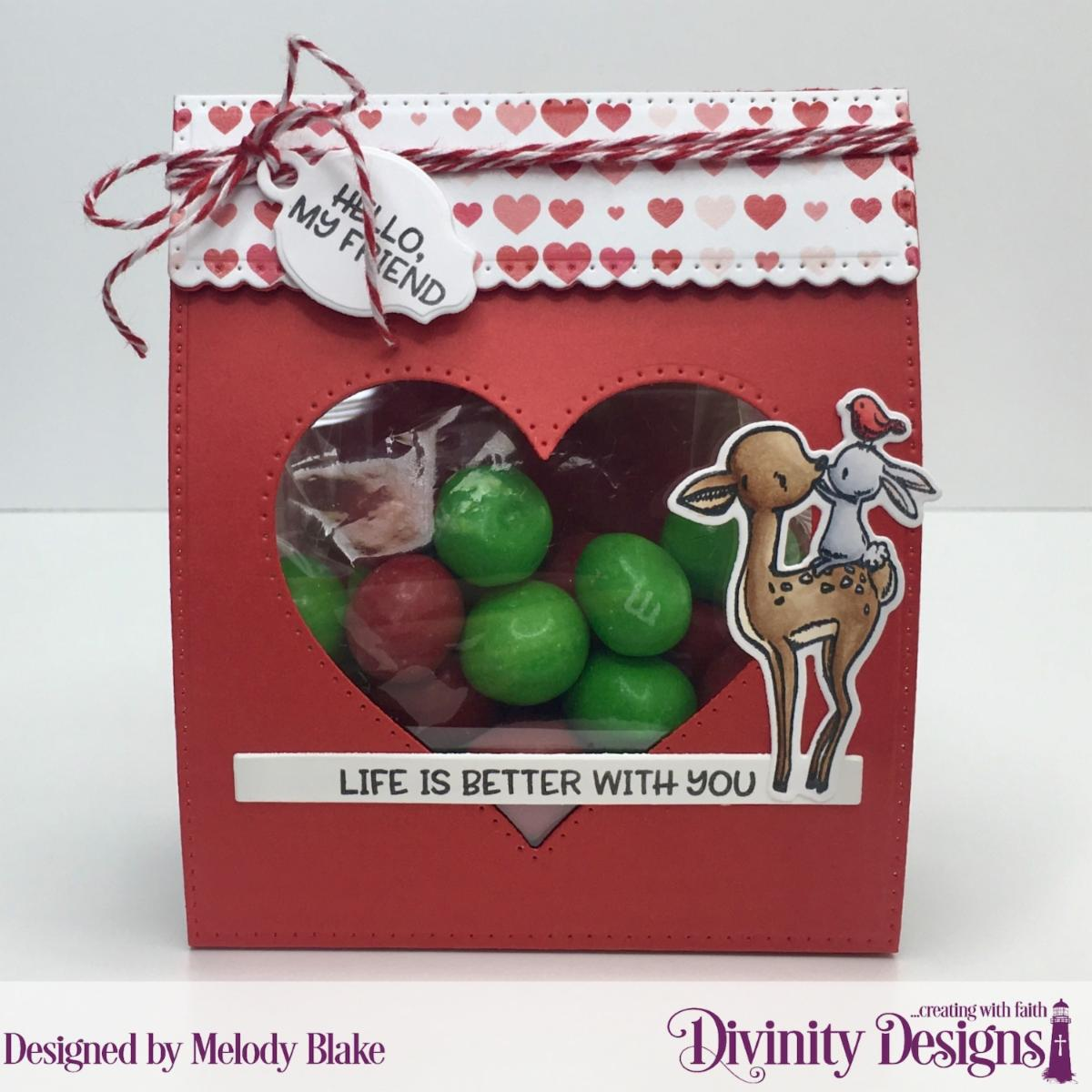 Stamp/Die Duos: Fur-Ever Friends Custom Dies: Festive Favors, Sentiment Strips, Mini Tags Paper Collection: Sweet Hearts