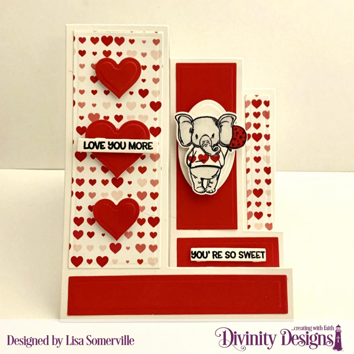 Stamp/Die Duos: So Sweet Custom Dies: Ovals, Sentiment Strips, Triple Step with Layers, Layering Hearts Paper Collection: Sweet Hearts