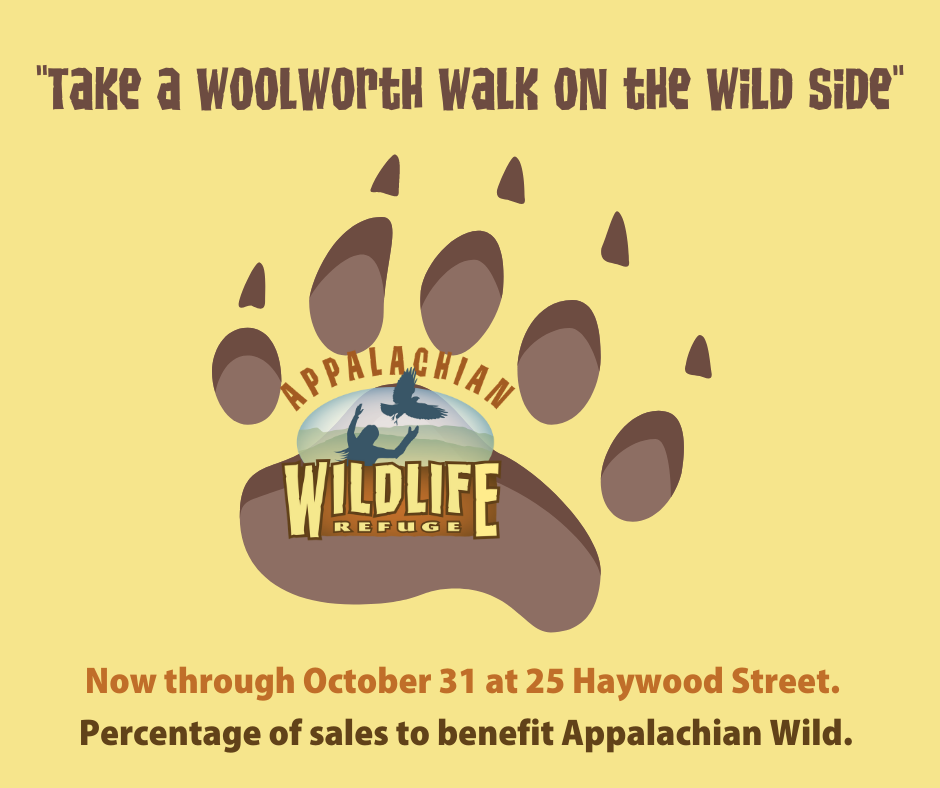 Paw Print ad for Woolworth Walk on the Wild Side