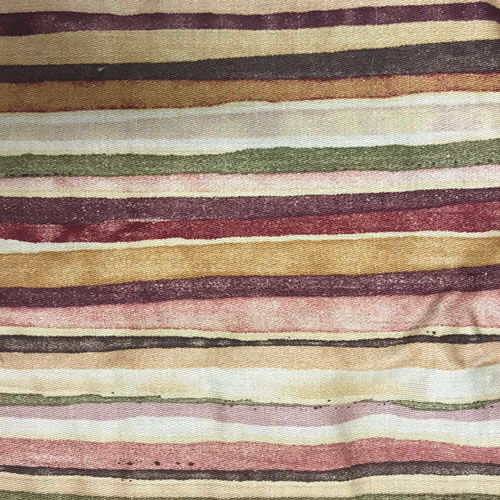 Earth Tone Stripes Fabric