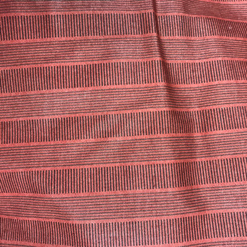 Red Stripes Fabric