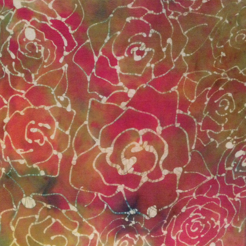 """Sunset Carnations"" - 12""x12"" Adria Willenson"