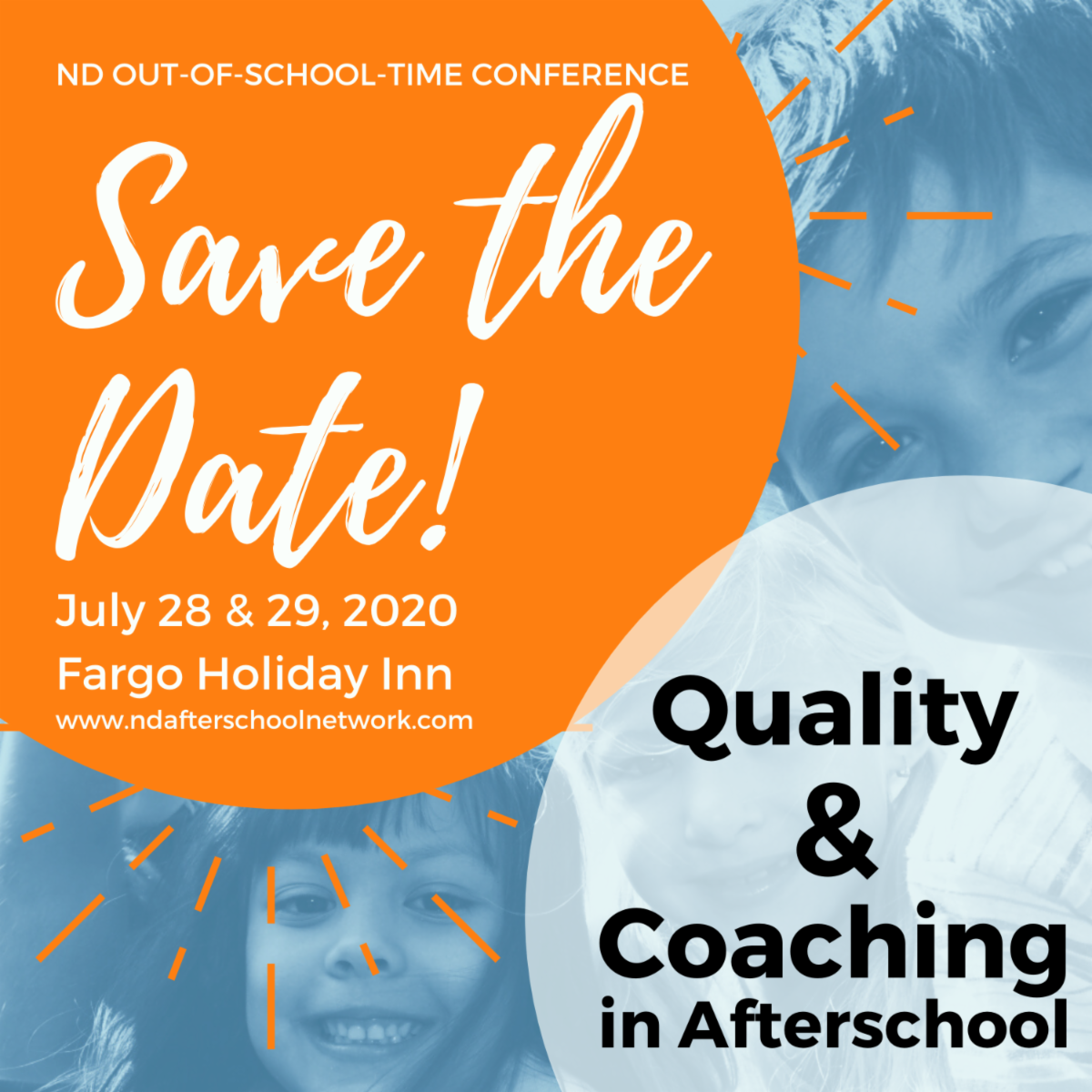 Out of School Time Conference Save the Date