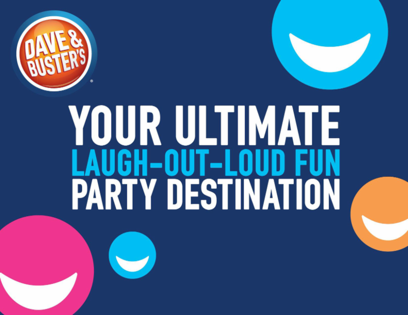 Dave and Busters - Your Home for Team Banquets, Team Parties, Team