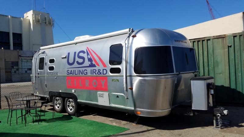 US Sailing Airstream Trailer