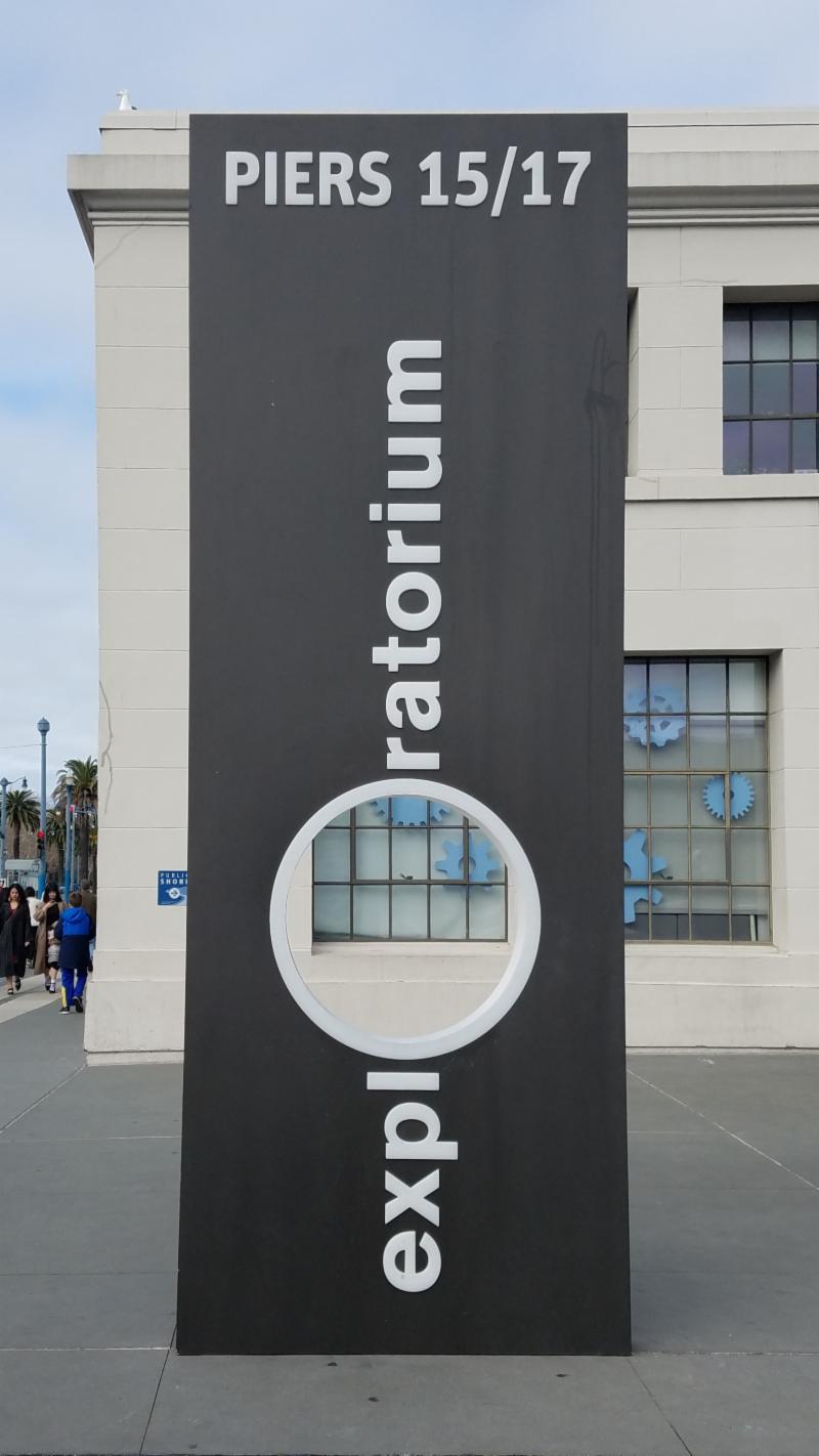 Exploratorium Sign