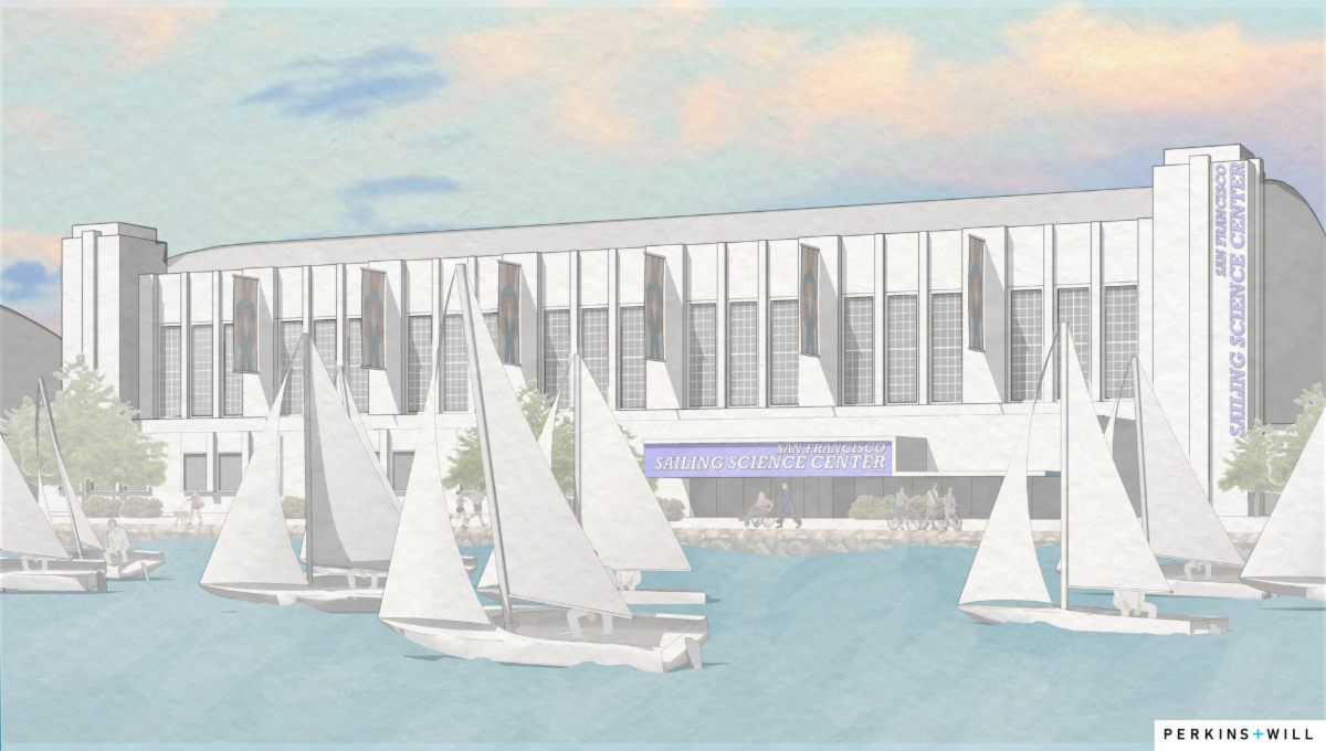 Sailing Science Center Exterior Rendering