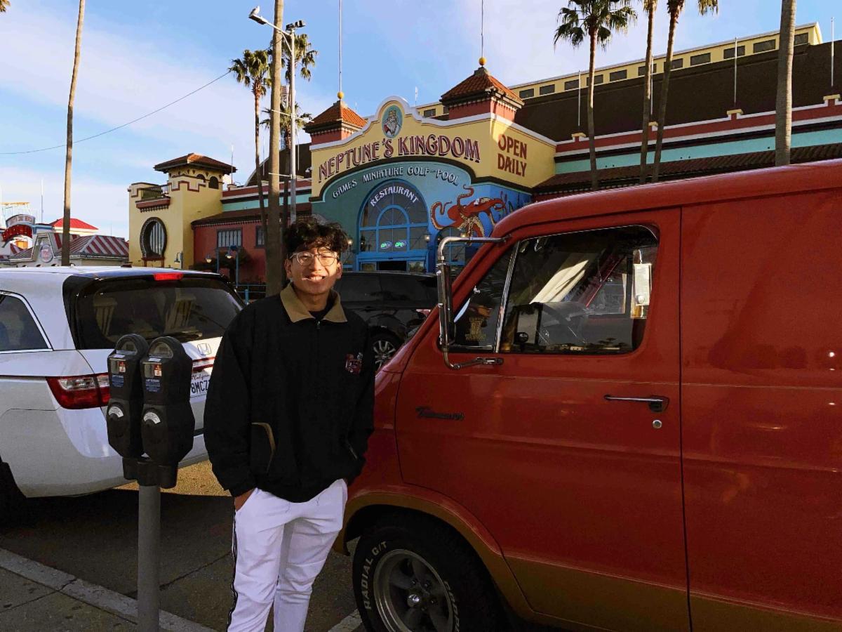 Dan Truong at the Boardwalk