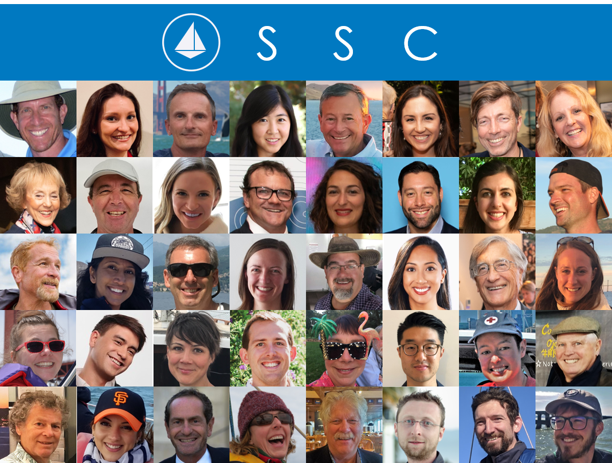 Photo Collage of SSC Volunteers