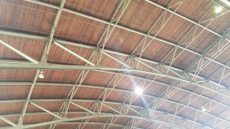 Hangar 3 - Roof Structure