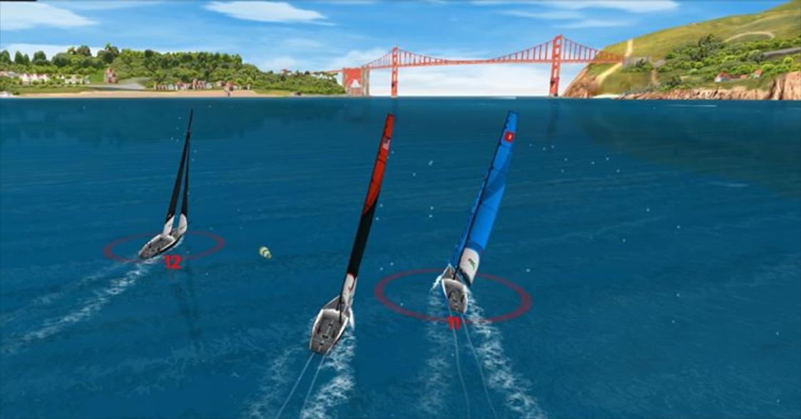 Virtual Regatta Screen Shot