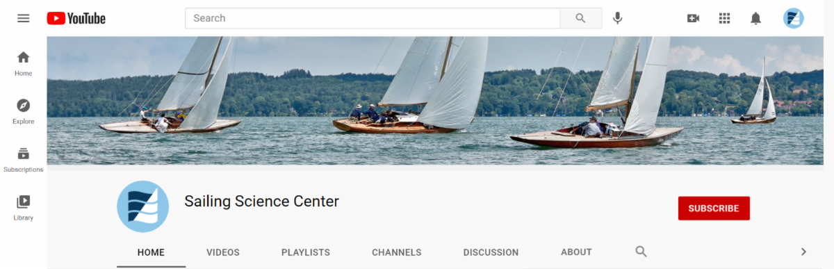 SSC YouTube Channel Banner
