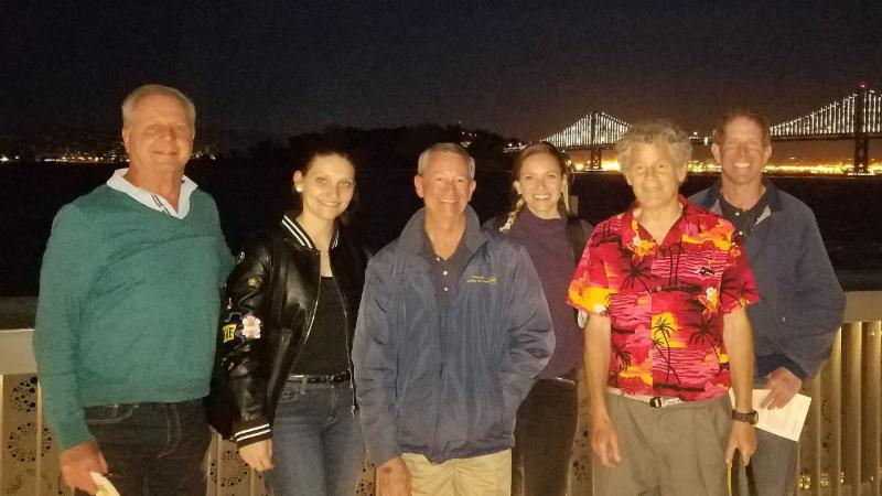 SSC Volunteers at the Exploratorium