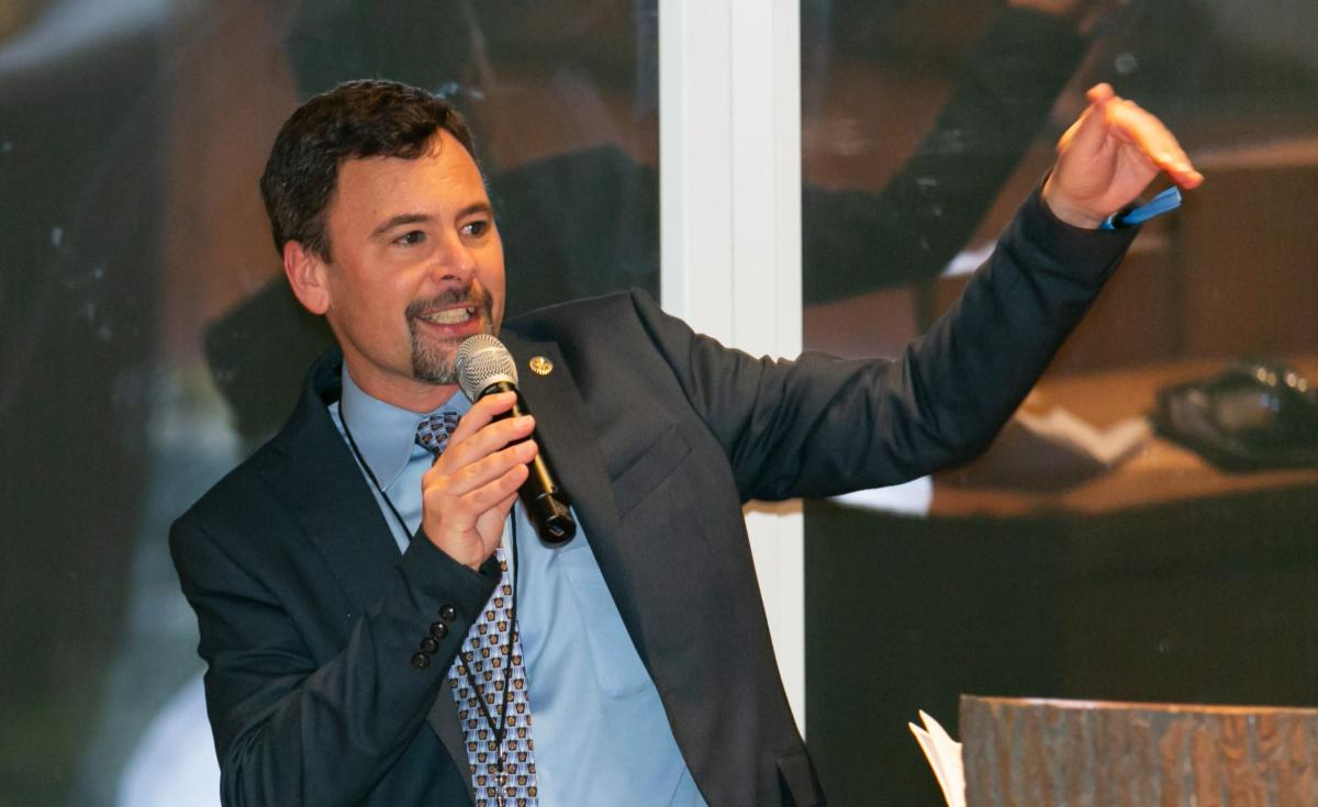 Tim Karas Giving Keynote