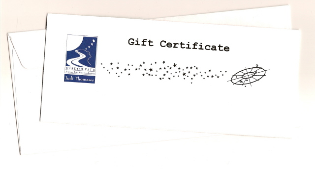 GiftCertificateForWisdomPath