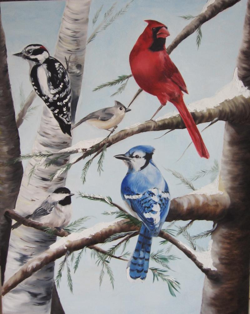 birds fo new england